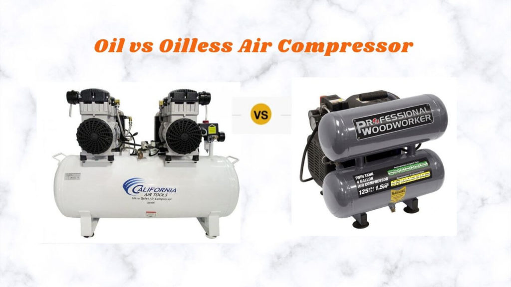 Oil or Oilless Air Compressor