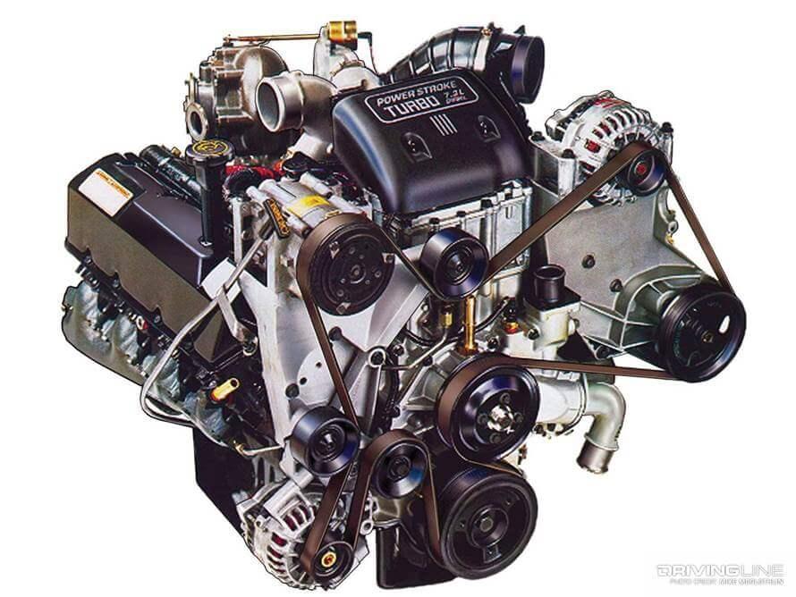 7.3 Powerstroke engine