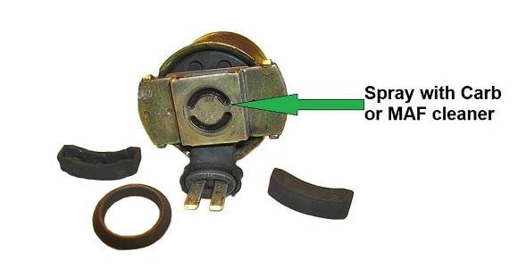 how to clean purge solenoid valve