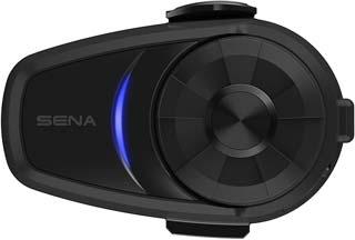 Sena 10S-01 Motorcycle Bluetooth Headset Communication System Black