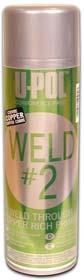 U-Pol Products 0768 Zinc Copper WELD#2 Weld Through Primer