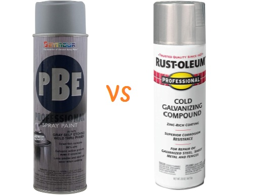 Weld through Primer vs Cold Galvanizing