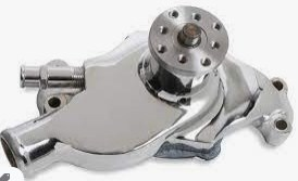 chrome water pump for 350 chevy
