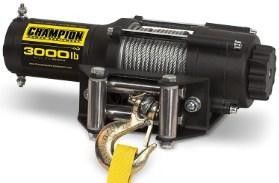 Champion 3000-lb ATV-UTV Winch Kit