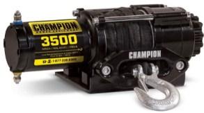 Champion Power Equipment100428 ATV-UTV Synthetic Rope Winch Kit3500lb