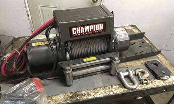 How to use a Champion Winch