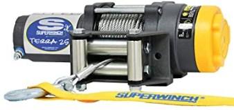 Superwinch 1125220 Terra 25 2500lb Winch with Roller Fairlead