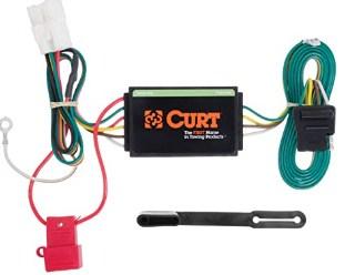 CURT 56040 Vehicle-Side Custom 4-Pin Trailer Wiring